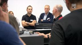 JW Betriebsbesuch bei der Firma Steinbauer in Wartberg ob der Aist