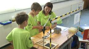 Kinder erleben Technik in der WKO Rohrbach