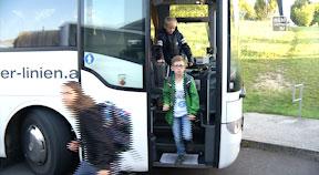 Finanzierung Schülertransport bleibt Herausforderung