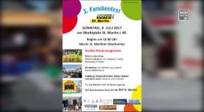 Ankündigung: Familienfest in Sankt Martin im Mühlkreis