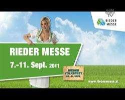 Ankündigung Rieder Messe 2011