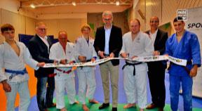 Topmodernes Judo-Trainingszentrum auf der Gugl eröffnet