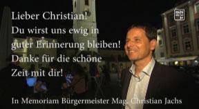 In Memoriam: Bgm. Christian Jachs und Hotelier Werner Pürmayer