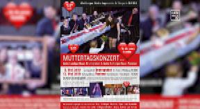 Ankündigung Muttertagskonzert Waldburg