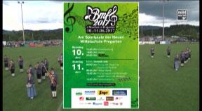 Ankündigung: Bezirksmusikfest in Pregarten