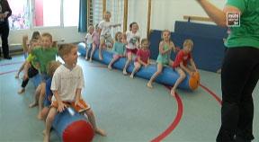 Bewegungsfreundlicher Kindergarten in Pregarten